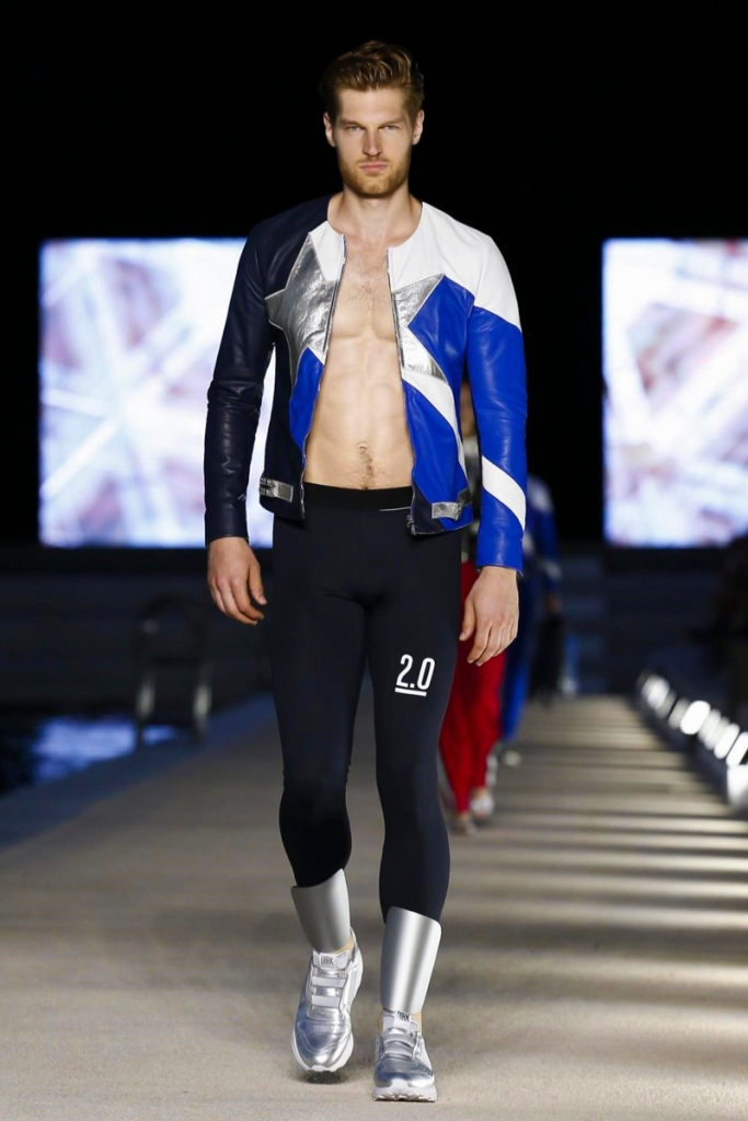 Dirk Bikkembergs Menswear Spring Summer 2017 Collection in Milan