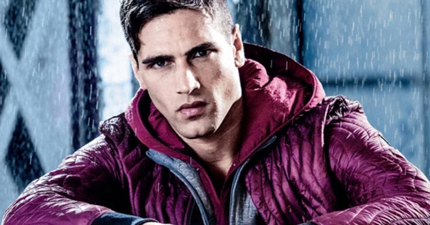 Fabio Mancini Armani Jeans FW16 Campaign Ft Italian Supermodel Fabio Mancini