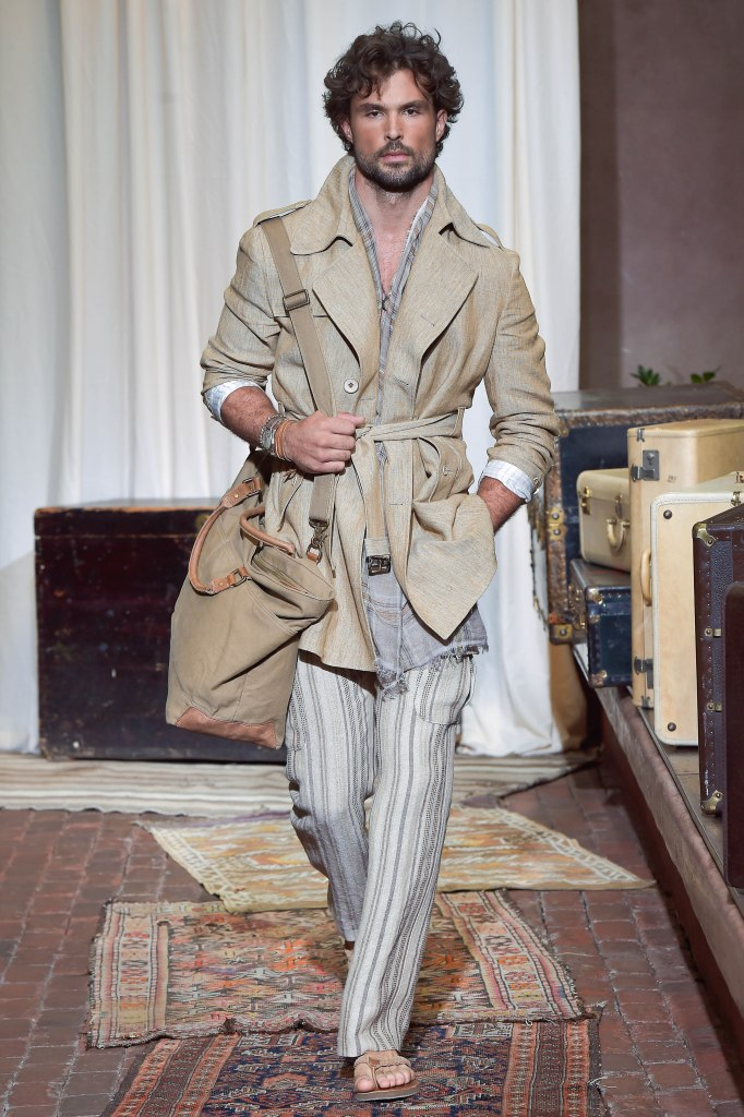 Joseph Abboud, Menswear Spring 2017, New York, July 12 2016