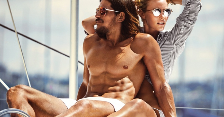 Jarrod Scott and Nathaniel Visser for Le Specs