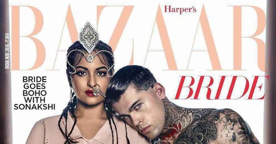 STEPHEN JAMES COVERS HARPER'S BAZAAR INDIA